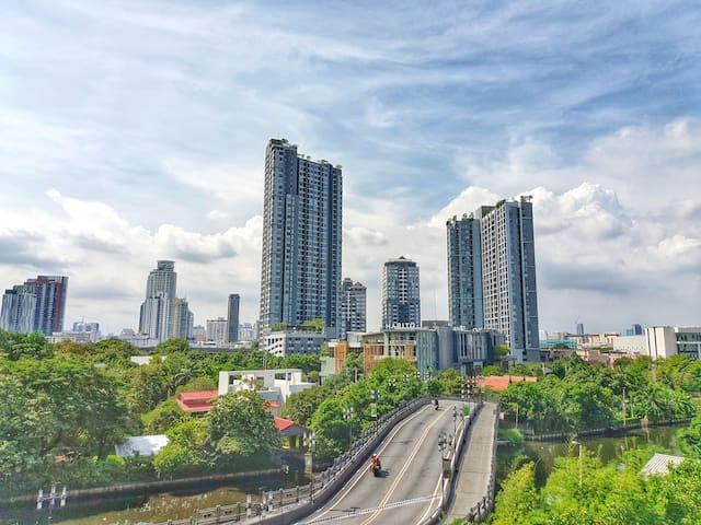 Hi-end Life style of Thailand-1BR condo @Sukhumvit