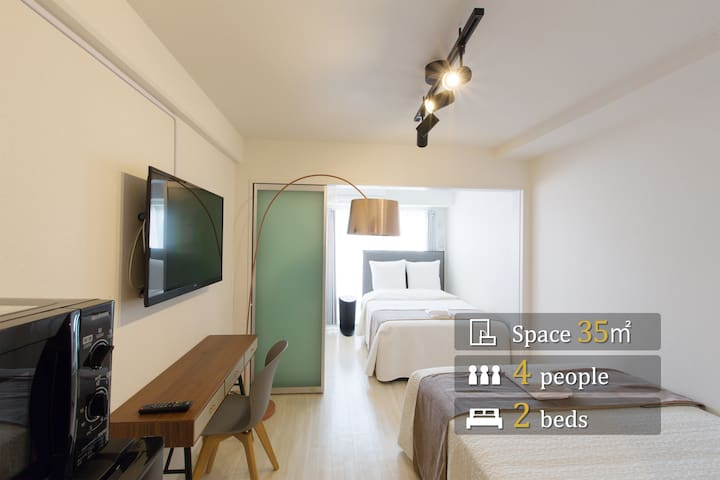 Grandouce Shinkitano☆New apartment/5min to Umeda