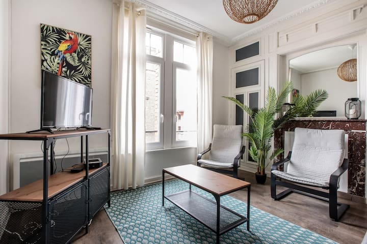 Cosy Appartement close to train stations