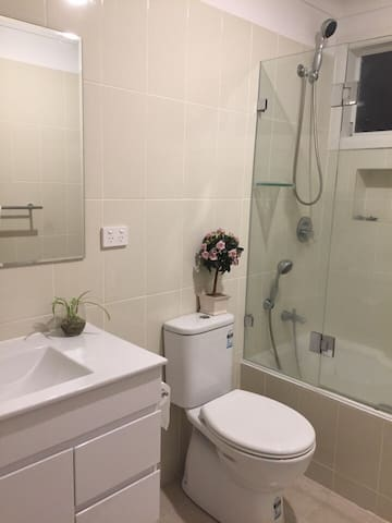 Quiet area - one large room & PRIVATE bathroom