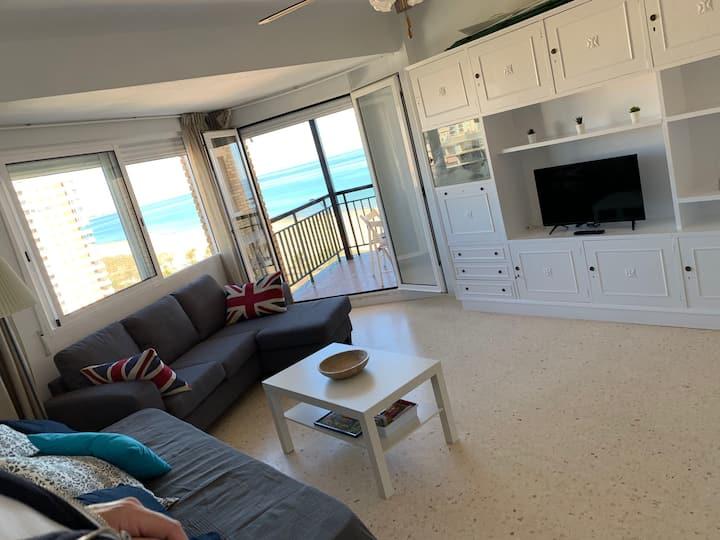Apartamento en 1ª línea en urbanización de lujo