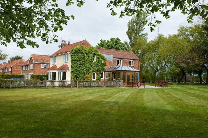 Large detached house near York