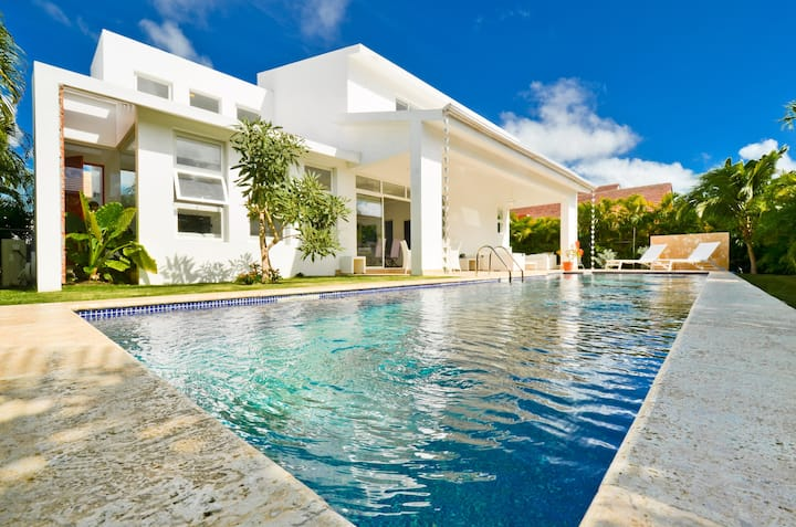 Puntacana 3BR Modern Villa with Private Pool*****