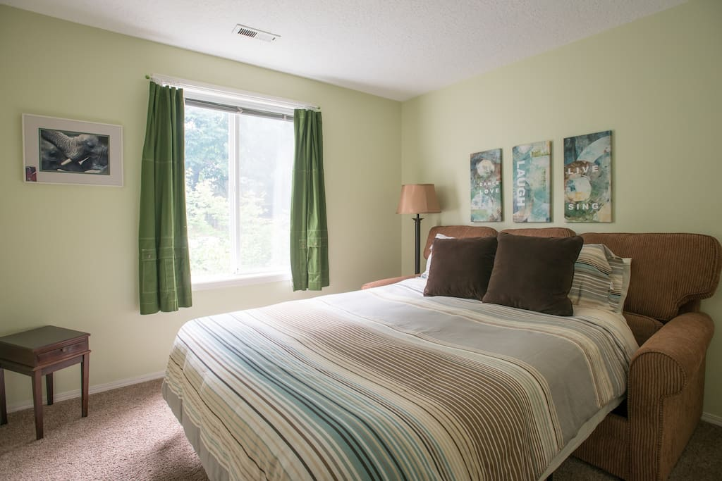 Lots of natural light in your bedroom