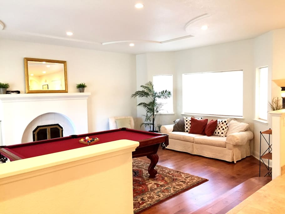 Spacious Living Room with Stylish Furniture
