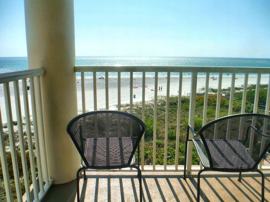 Your Private Balcony overlooking the Beach