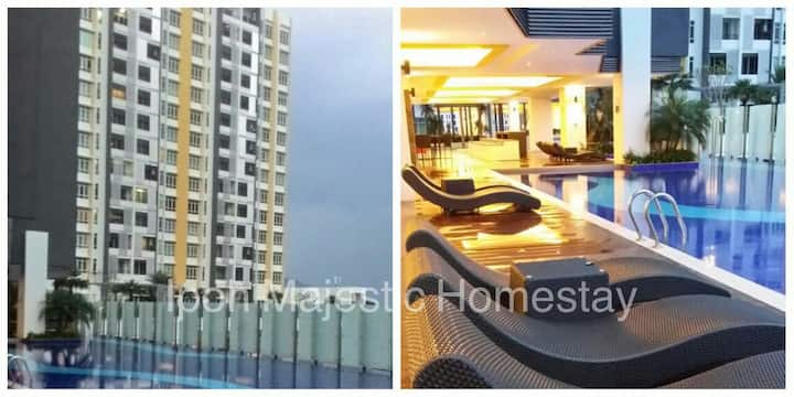 New - Ipoh Majestic B202 (#2 car park #2 rooms)