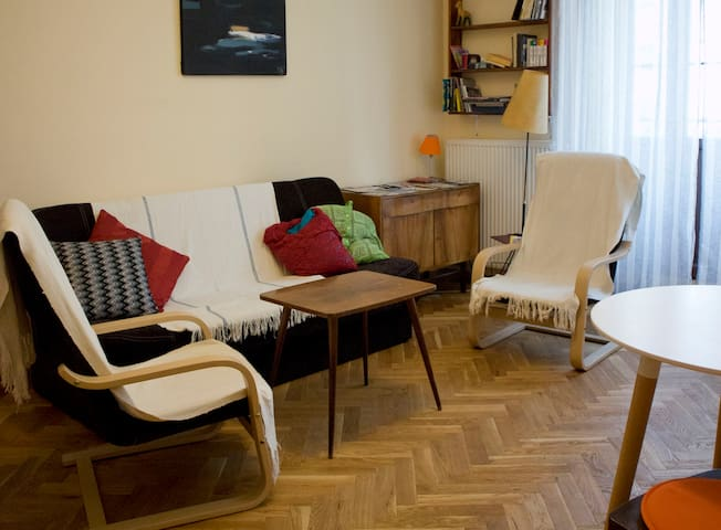 Cosy and nice flat in old Praga neibourghood.