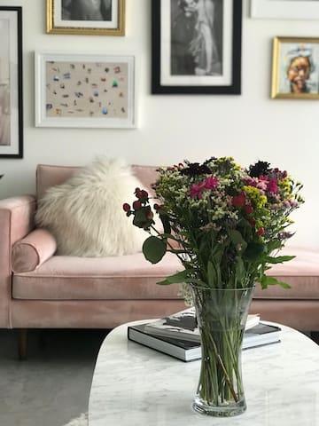 Luxurious beautiful designer duplex