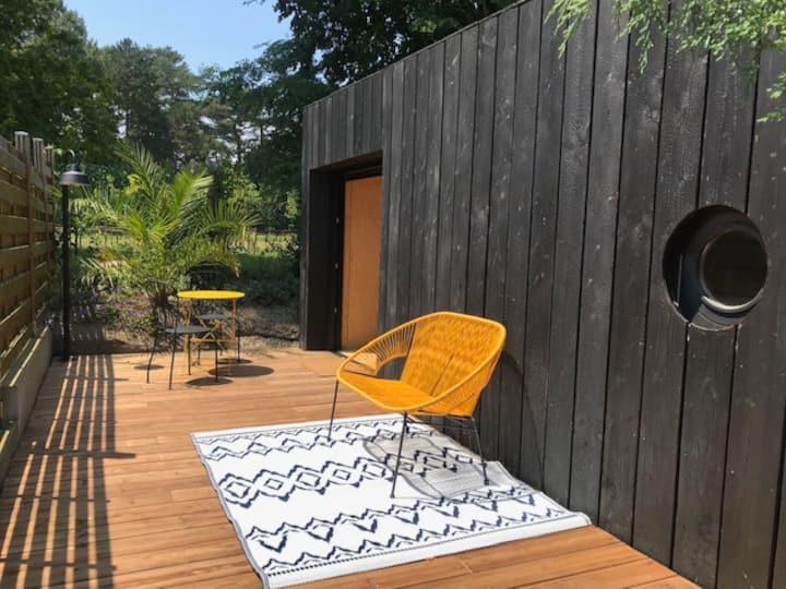 Cocon en bois à Anglet avec sa belle terrasse !