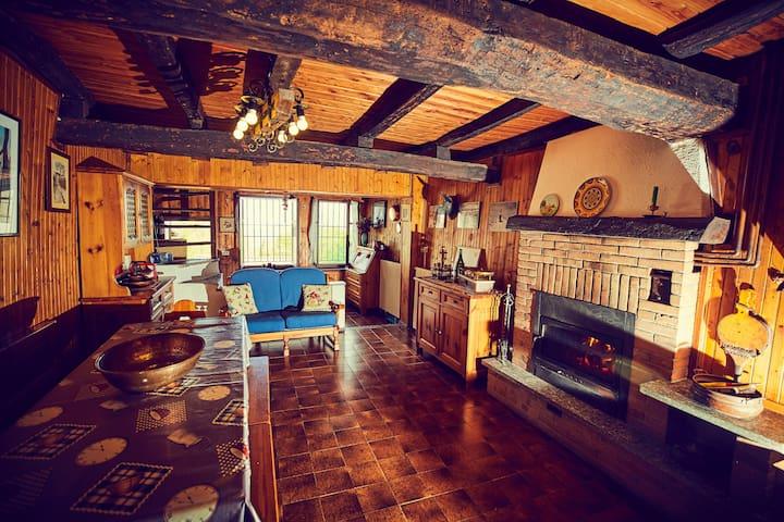 Maison rustique près de Biella! - Callabiana - Rekkehus