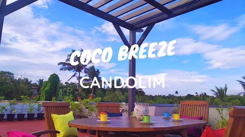 COCO BREEZE 4BHK Luxury Villa Pool Candolim