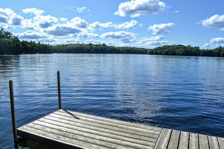5 BR Lakefront Home on Bird Lake (Minocqua area)