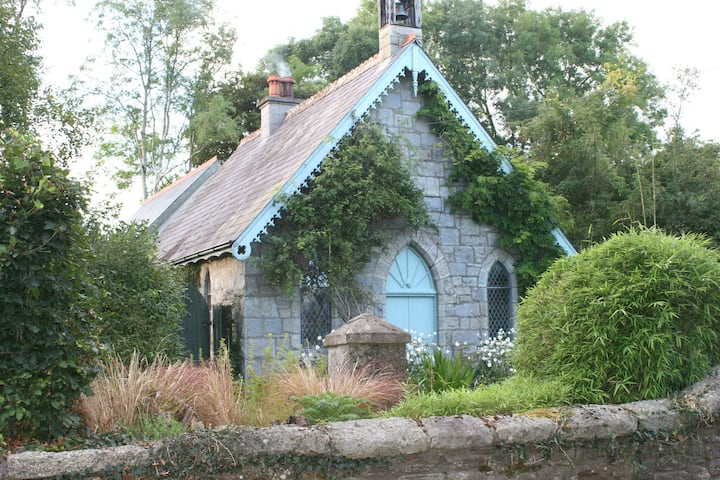 A picturesque 19th century restored granite church