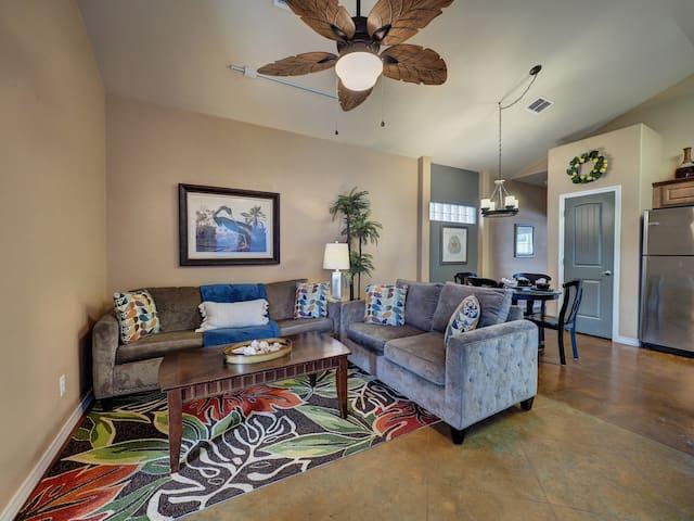 Living area of greatroom