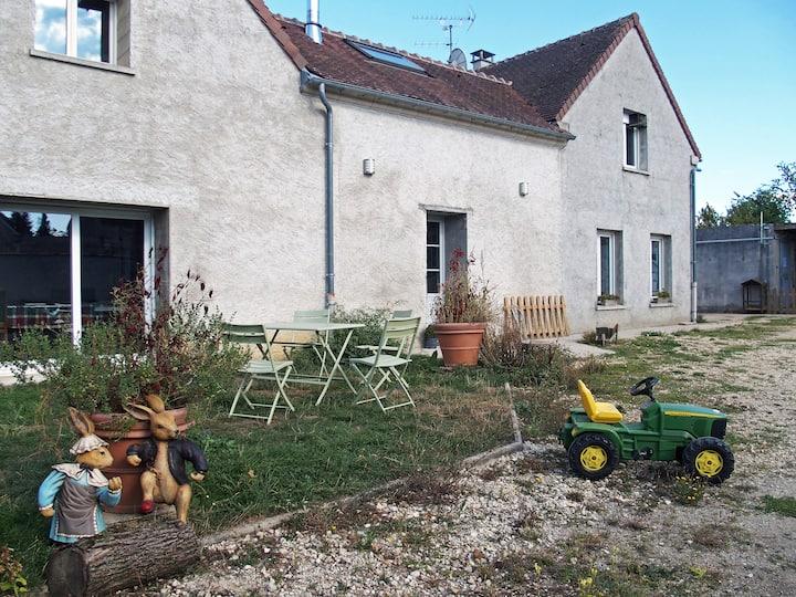 Gîte-Comfort-Ensuite-Garden View-Chambre d' hôte référence