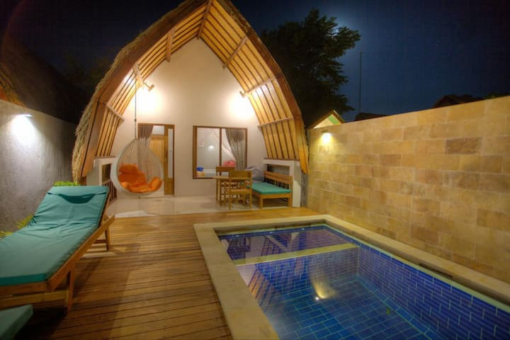 Super Hoom Gili Air 2 adult with Private Pool