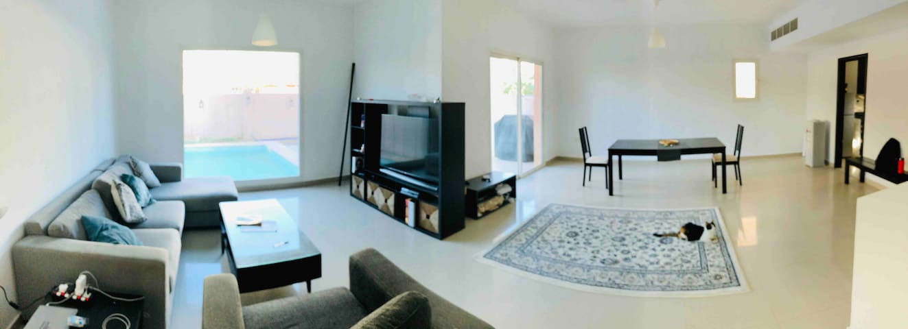 Private BD in al Reef  villas with pool