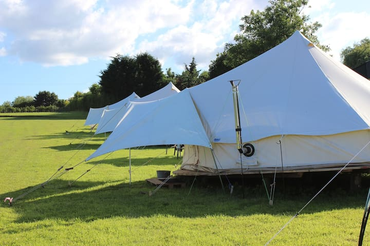 Meadow View Glamping - Swift 6m Bell Tent