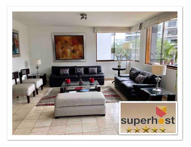 Luxury Apt. Parkview 4 bedroom 5bathroom 200 m2
