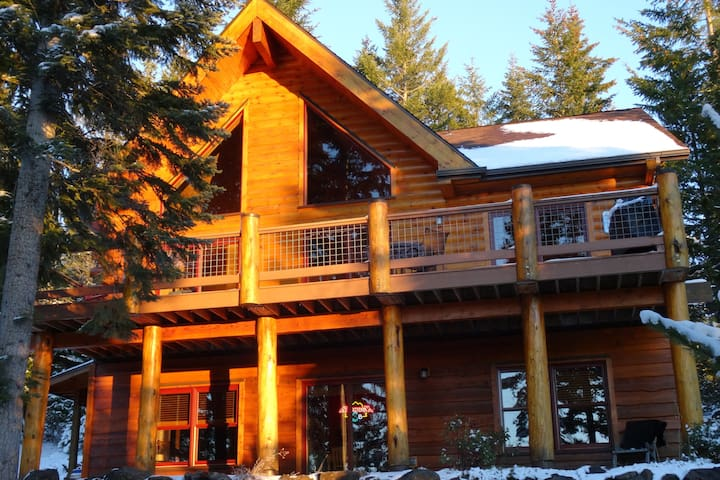 Luxury Log Cabin nr Crescent Lake & Crater Lake - Crescent - Srub