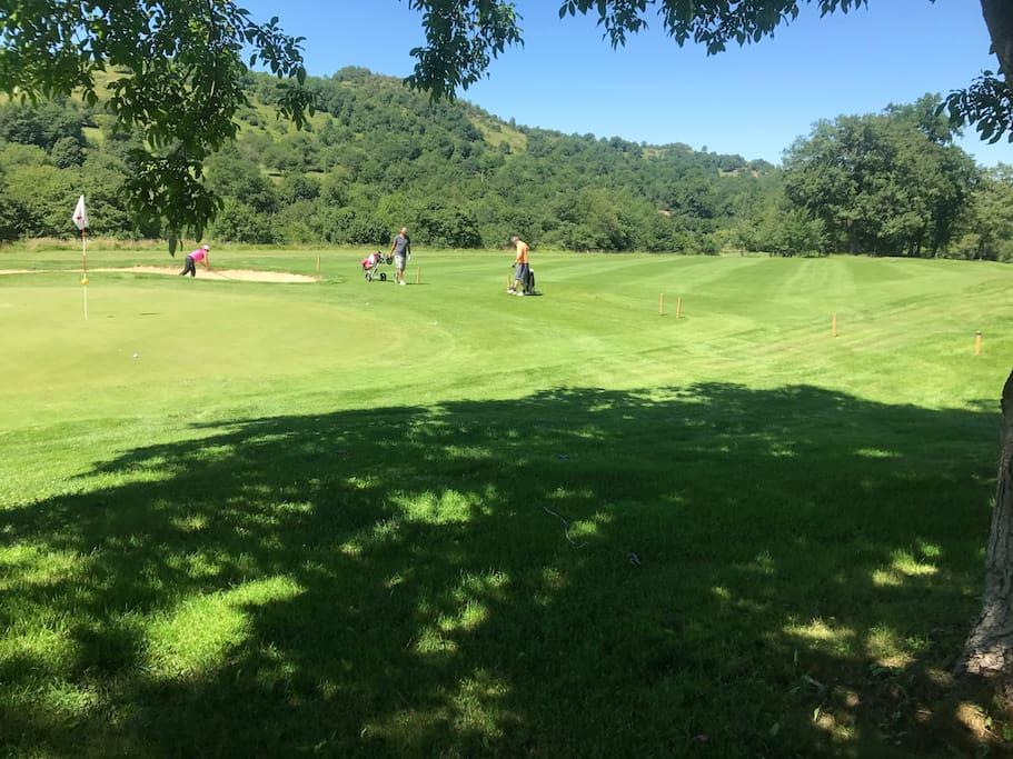 autre vue du golf