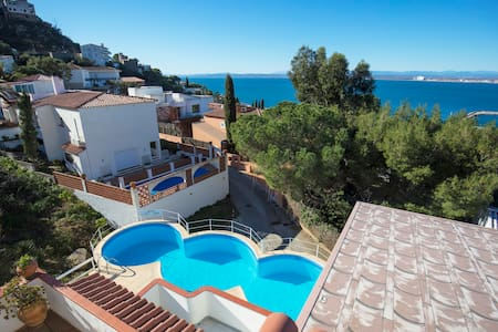 Apartment 4 pers Seaview Pool ! - Roses - Διαμέρισμα