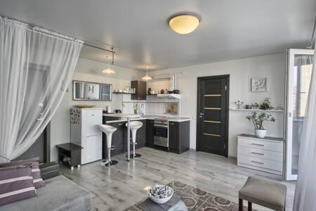 Modern studio for couples. - Druskininkai - Διαμέρισμα