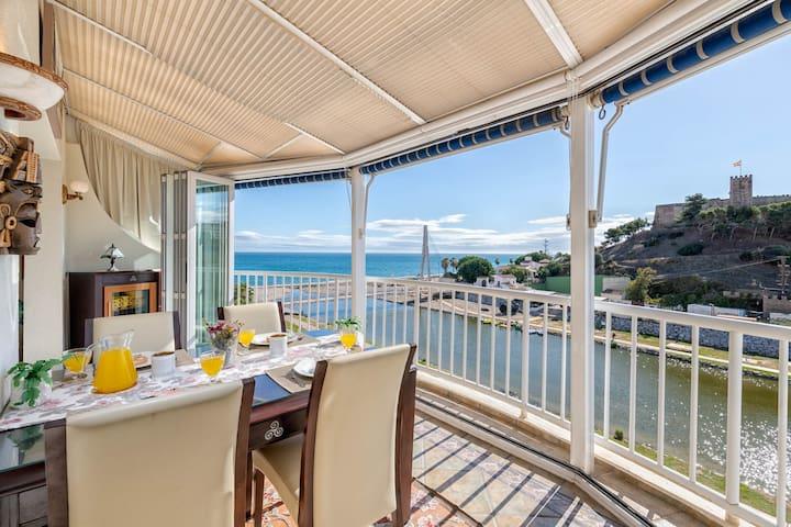 Castillo - apartment in Fuengirola views