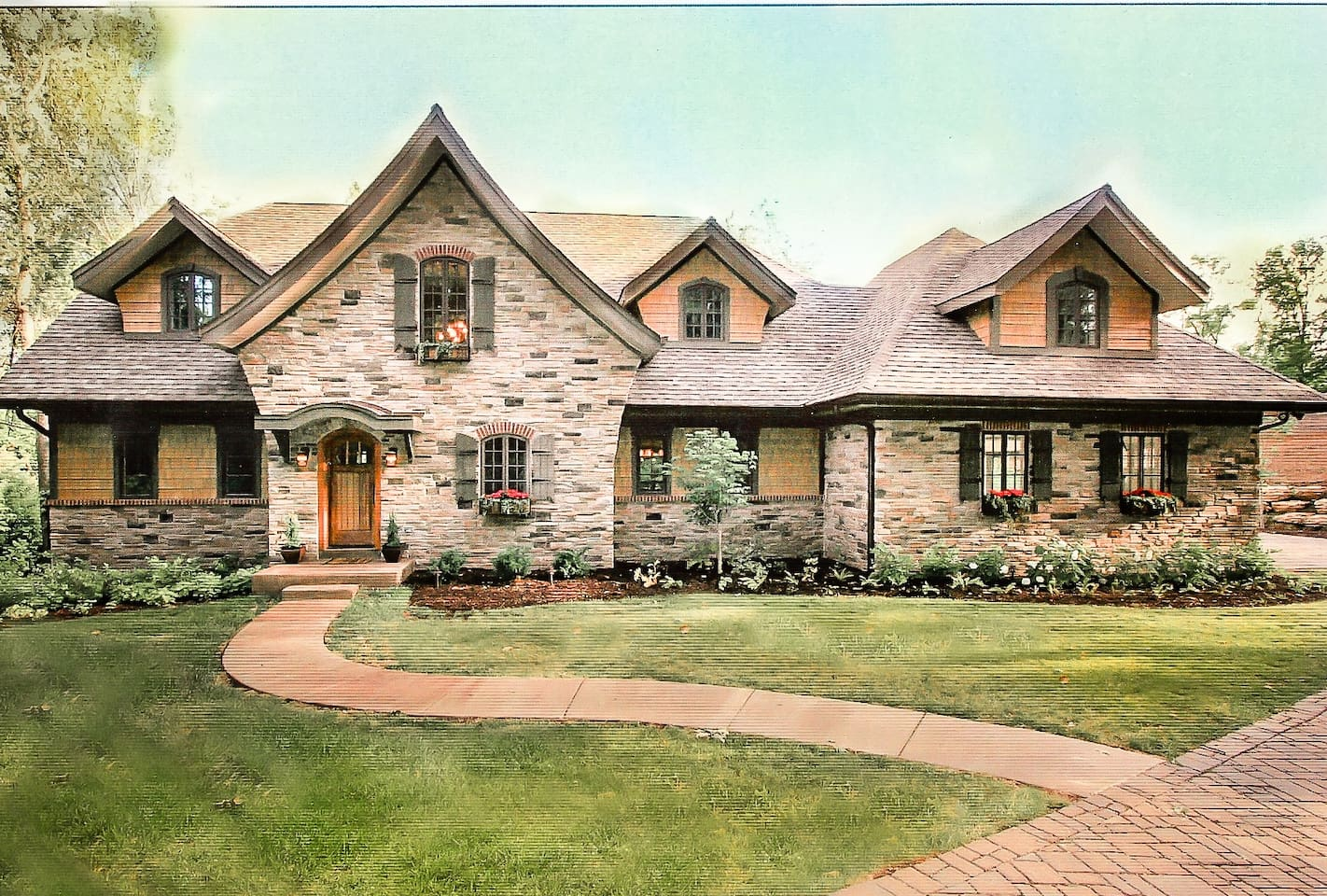 Gorgeous 5,000 sq ft home IDEAL for the PGA 2018 hosted by Bellerive Country Club. 5 bdr 4.5 bathrooms available for a luxurious stay in Creve Coeur, Missouri. Enjoy the stunning open floor plan as well as expansive stone patio including an outdoor conversation area complete with waterfall and patio. Walking distance to Bellerive Country Club, 15 minutes from Lambert Airport and located directly off of Highway 270. Don't miss this last minute, amazing opportunity to experience the PGA in luxury and comfort!