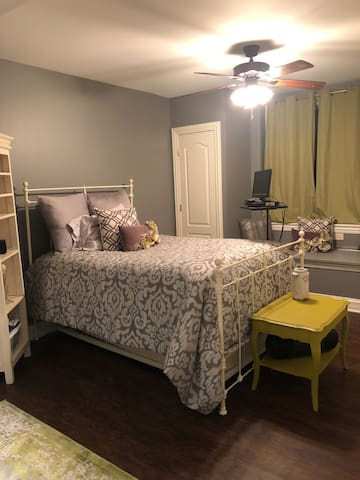 Boutique Basement Bedroom