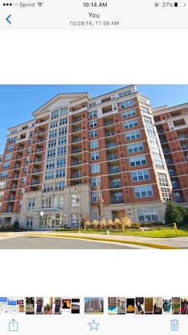 Beautiful one bedroom condo - Reston - Departamento
