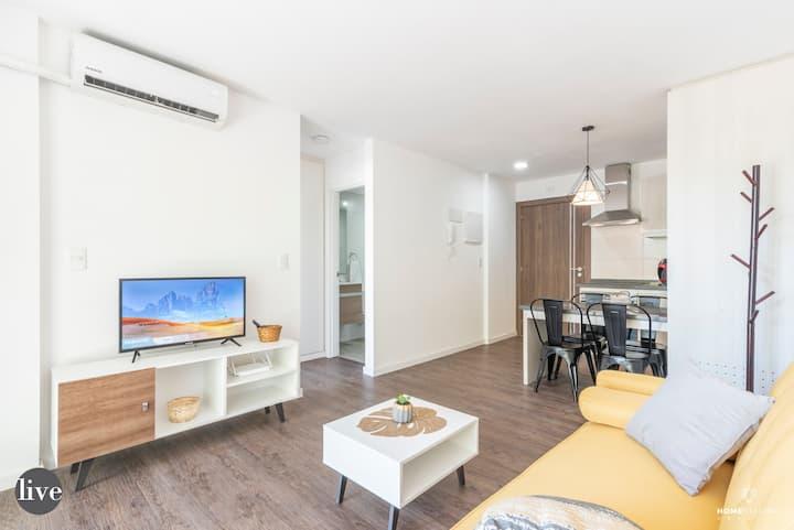 Apartamento Moderno en el Centro de la Ciudad