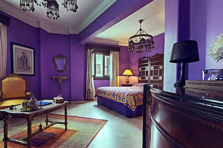 Balcony Suite - Ottoman suite bedroom<