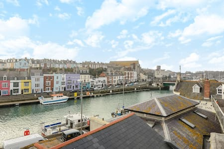 Town House harbour views sleeps 6 - Weymouth - House