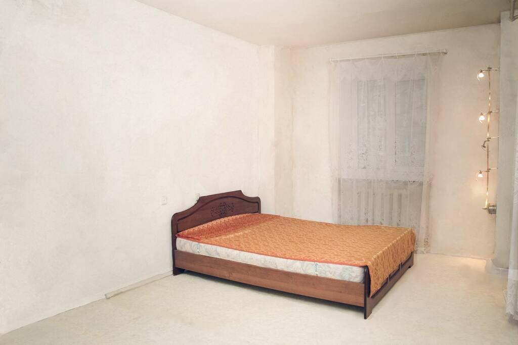 Комната 1 с тремя кроватями (на 4 места)