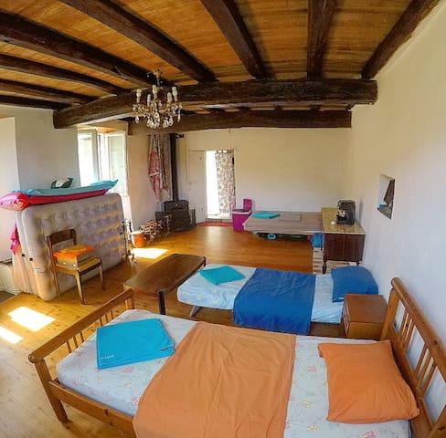 Hostel style @gatetothewild: Stanza condivisa