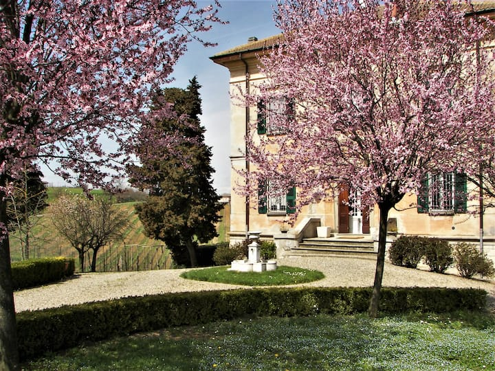 Villa pleine de charme en colline - Val Tidone PC