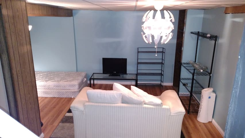 Basement room in the suburbs - Hoffman Estates - Huis
