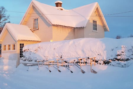 A cozy nordland house to enjoy the northen lights