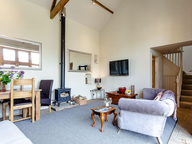 The Barn - Beautiful  4 star property - Littlethorpe - Hus