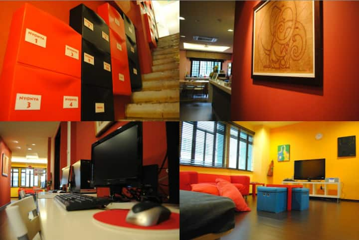 One bed in 4-Bed Female Dorm Near to ClarkeQuayMrt