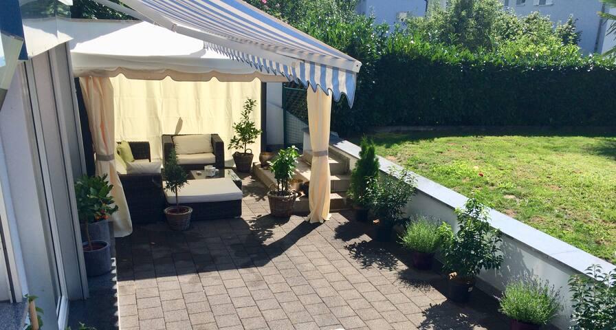 Traumhafte Gartenwohnung in Toplage