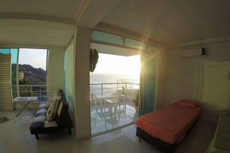 Luxurious aparment with the best sunset view - Santa Marta - Loteng