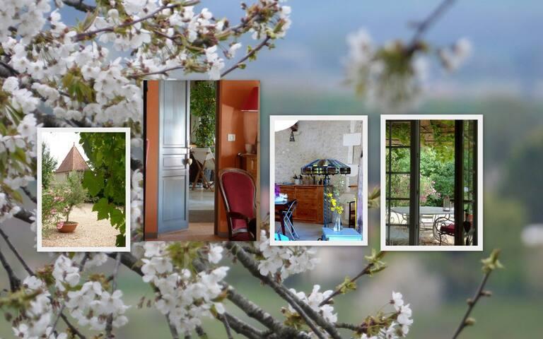 Chez Juillard - Nanteuil-Auriac-de-Bourzac - บ้าน