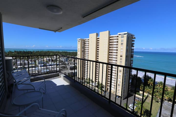 Luquillo Apartment with Ocean View