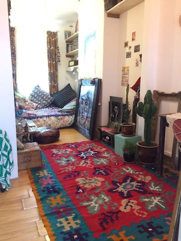 Cute Bohemian 1 bed flat in the heart of Dalston
