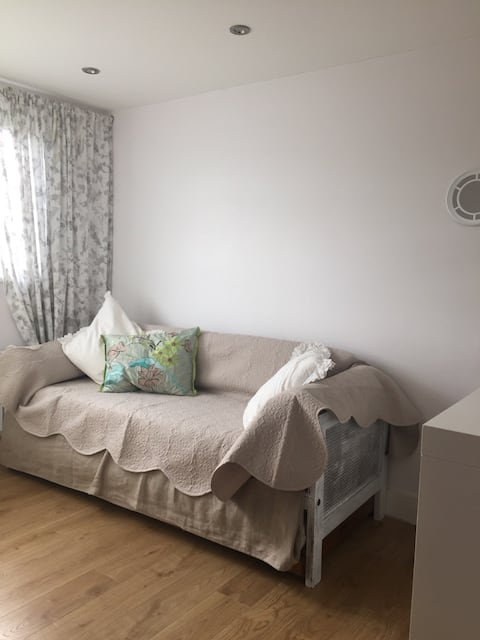 Single room in a bright loft apartment