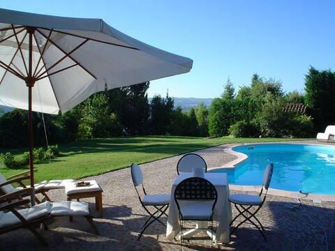 Villa on Alba's hill