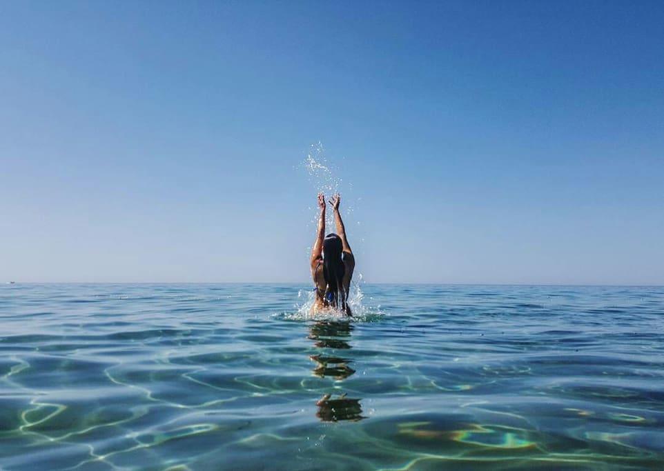 PURE SEA WATER